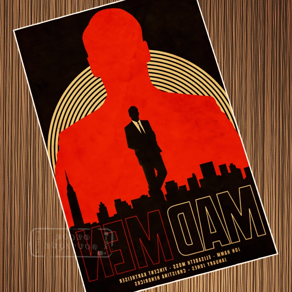 Preferred Buy Mad Men Posters And Get Free Shipping On Aliexpress For Mad Men Wall Art (View 11 of 15)