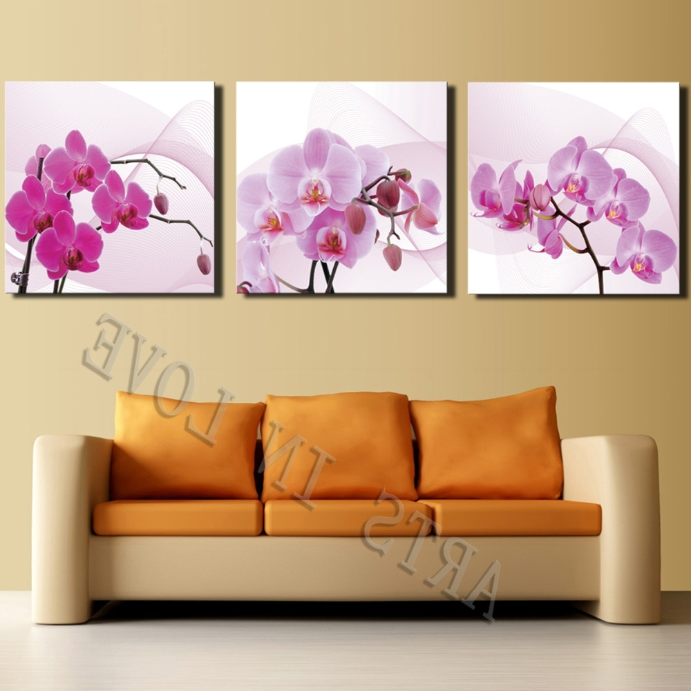 2018 Latest Canvas Wall Art Sets Of 3