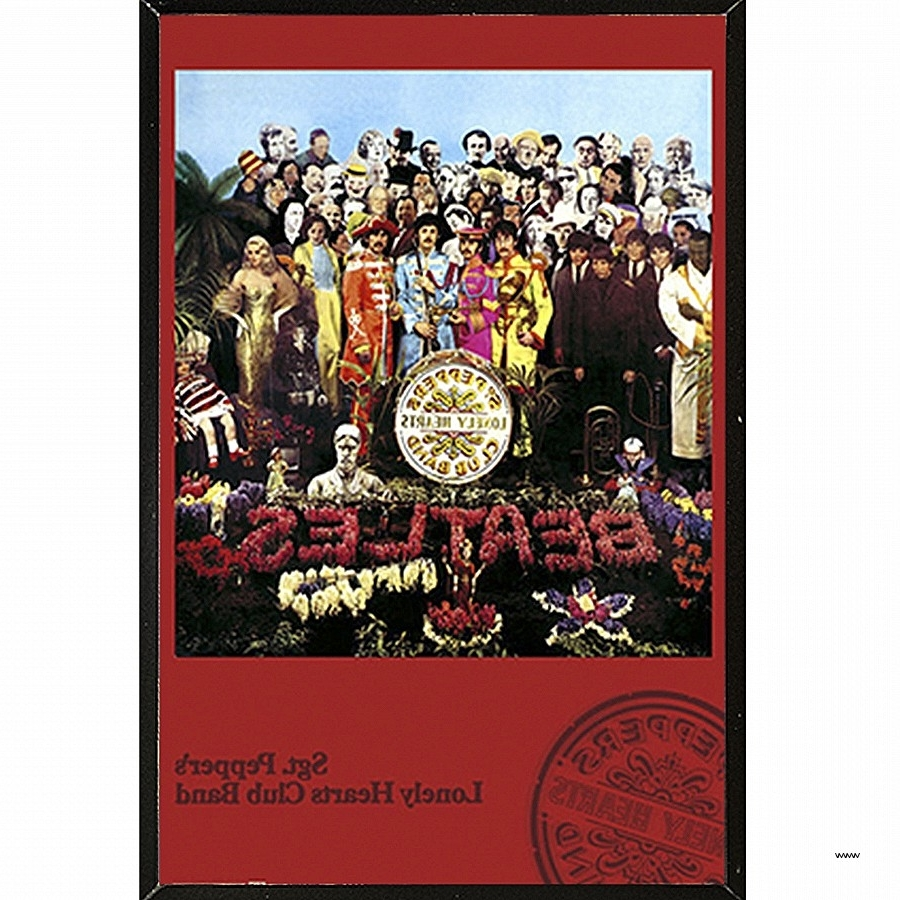 Preferred Christian Framed Wall Art With Regard To Christian Framed Wall Art Elegant Usa The Beatles Sgt Pepper (View 11 of 15)