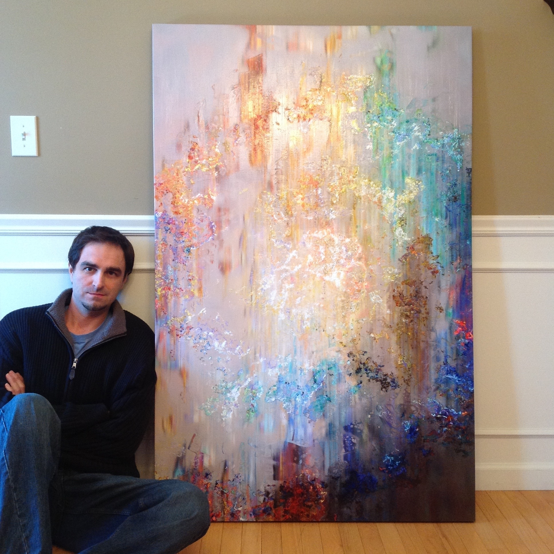 Preferred Cianelli Studios Blog – Abstract Art Throughout Giant Abstract Wall Art (View 7 of 15)