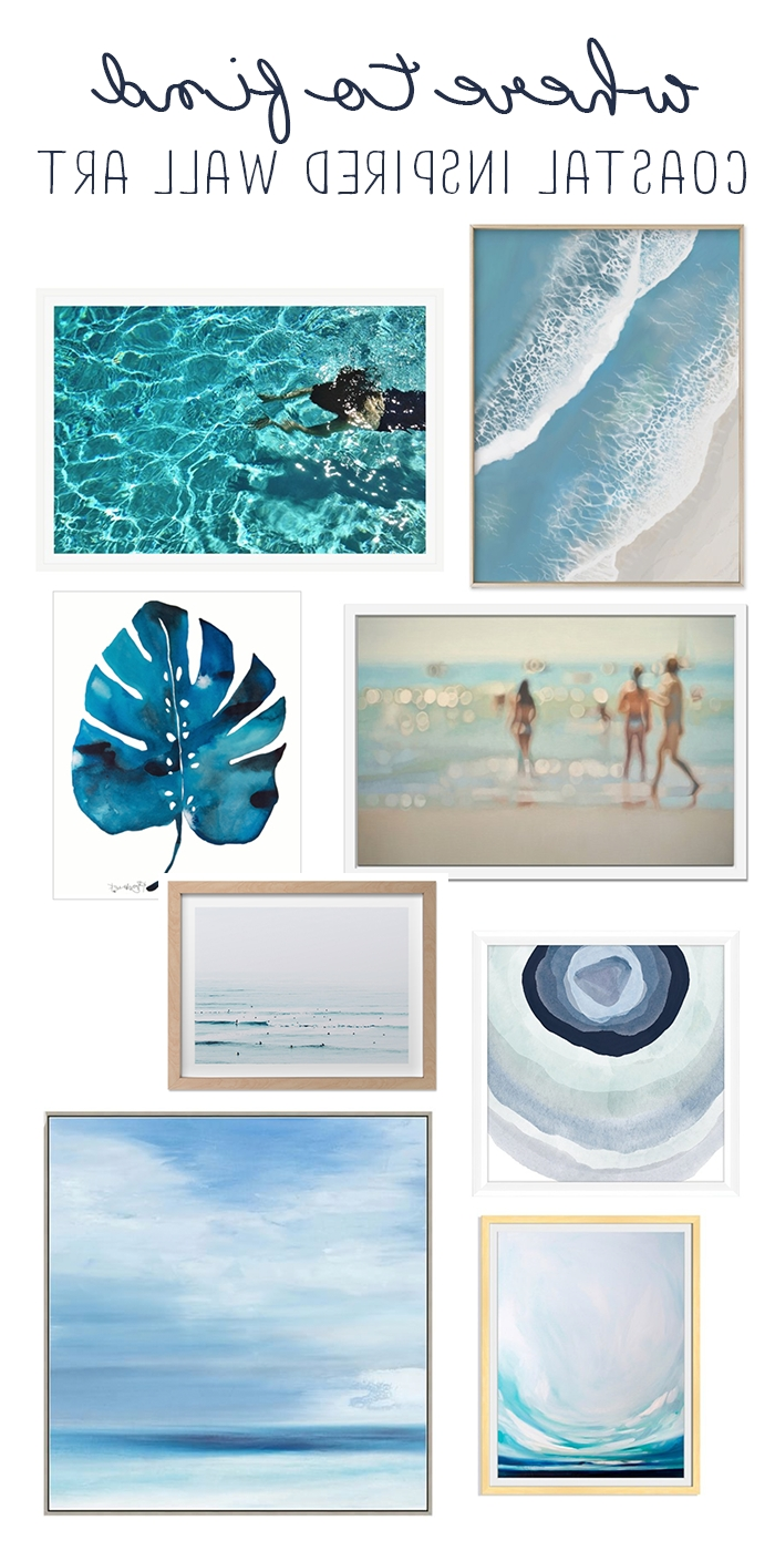 Preferred Coastal Wall Art – Where To Find Light And Bright Beachy Wall Art Within Coastal Wall Art (View 12 of 15)