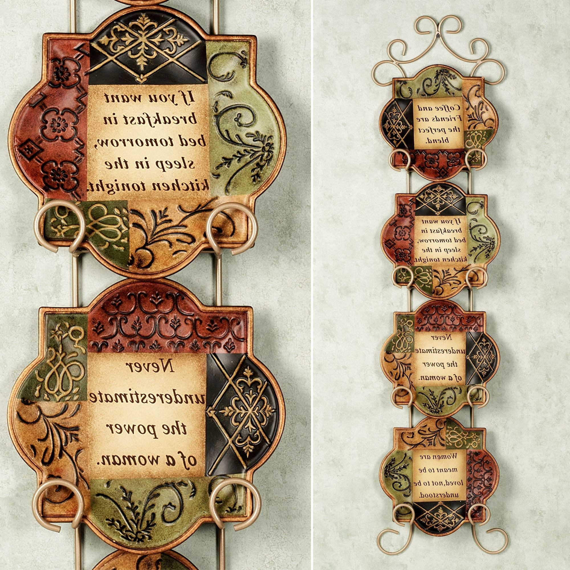 Preferred Decorative Plates For Kitchen Wall – Awesome Woman To Woman Throughout Italian Plates Wall Art Sets (View 9 of 15)