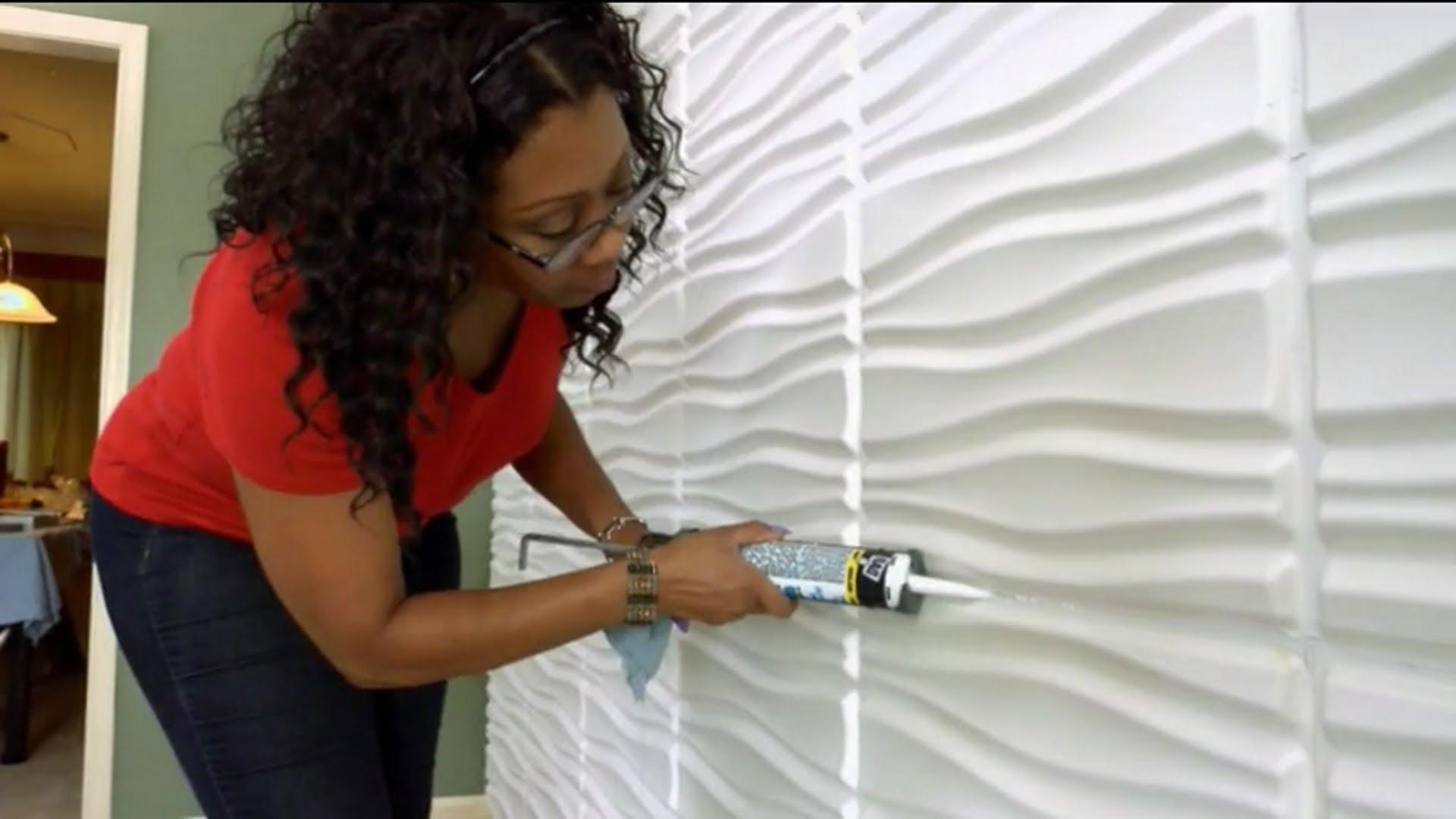 "Preferred Decorative Wall Panelswallart As Seen On Diy ""i Want That Regarding Diy 3d Wall Art Decor (View 15 of 15)"
