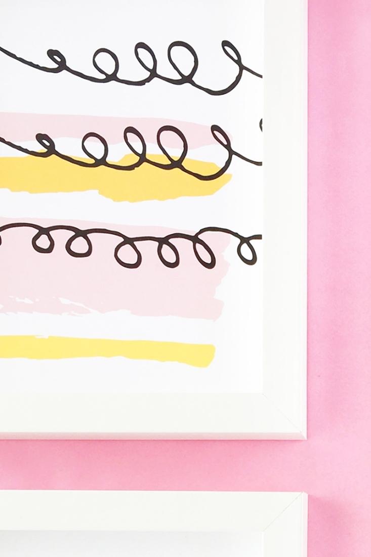 Preferred Diy Pastel Abstract Wall Artmaritza Lisa Pertaining To Pastel Abstract Wall Art (View 9 of 15)
