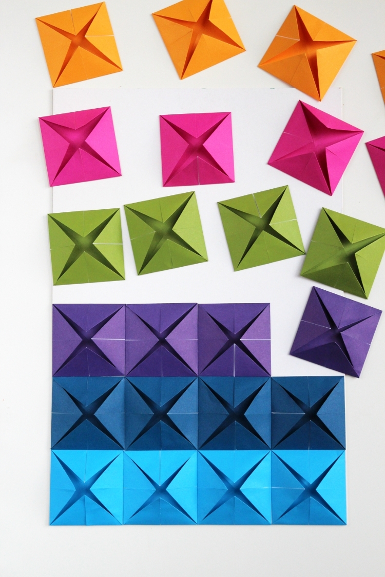 Preferred Easy Origami Wall Art (View 15 of 15)