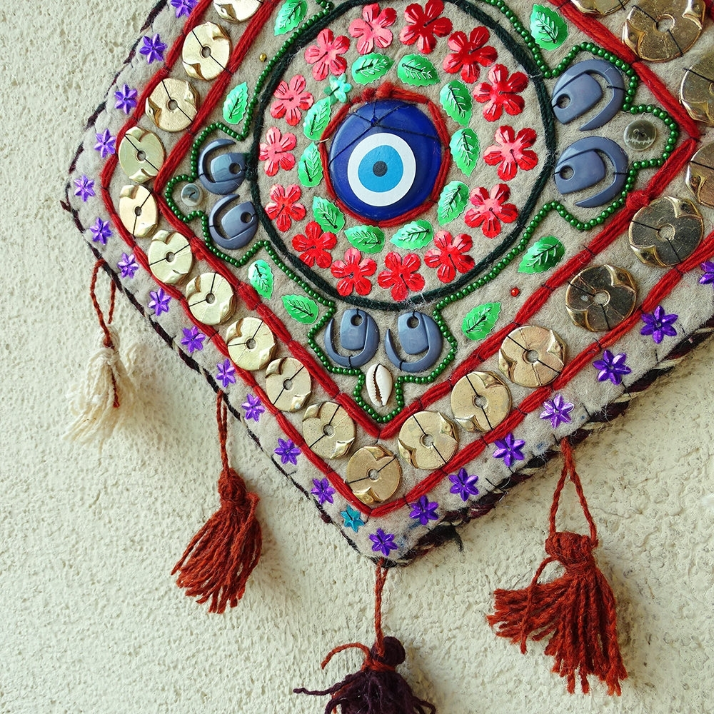 Preferred Evil Eye Decoration, Turkish Wall Hanging, Evil Eye Home Amulet Intended For Turkish Wall Art (View 15 of 15)