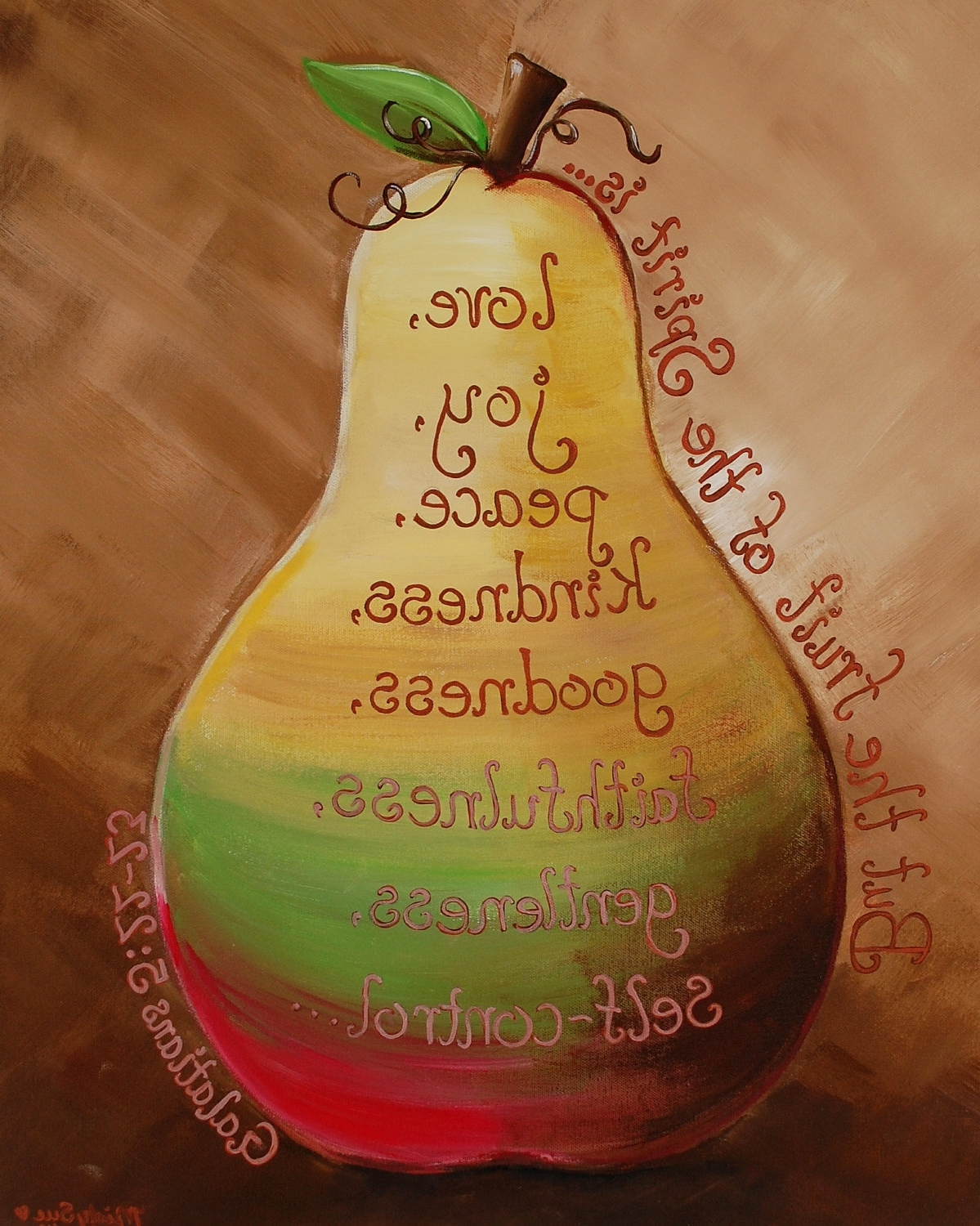 Preferred Fruit Of The Spirit Artwork Throughout But The Fruit Of The Spirit Is Love, Joy, Peace, Patience (View 15 of 15)