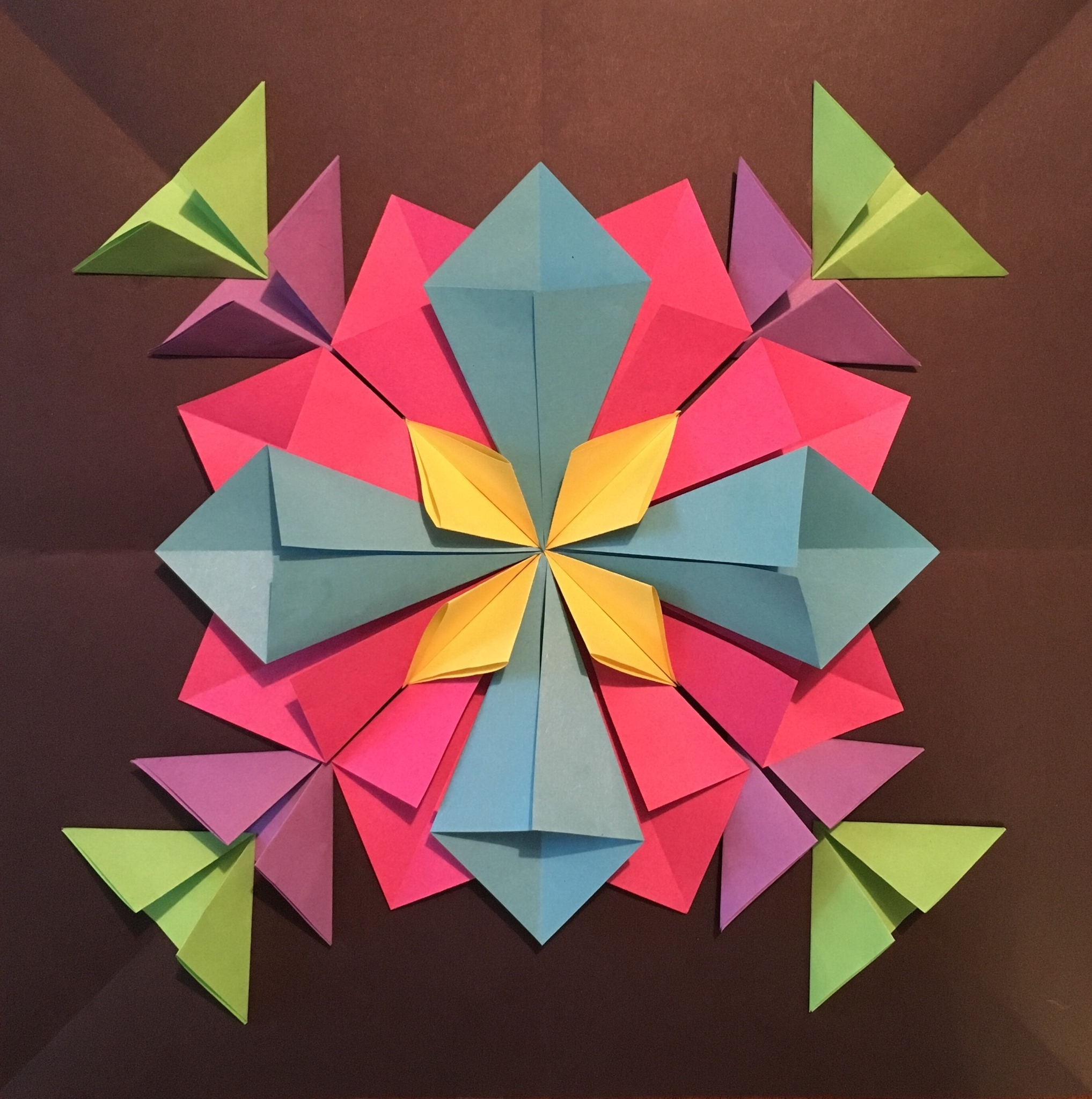 Preferred How To Create A 3D Radial Symmetry Paper Sculpture (View 11 of 15)