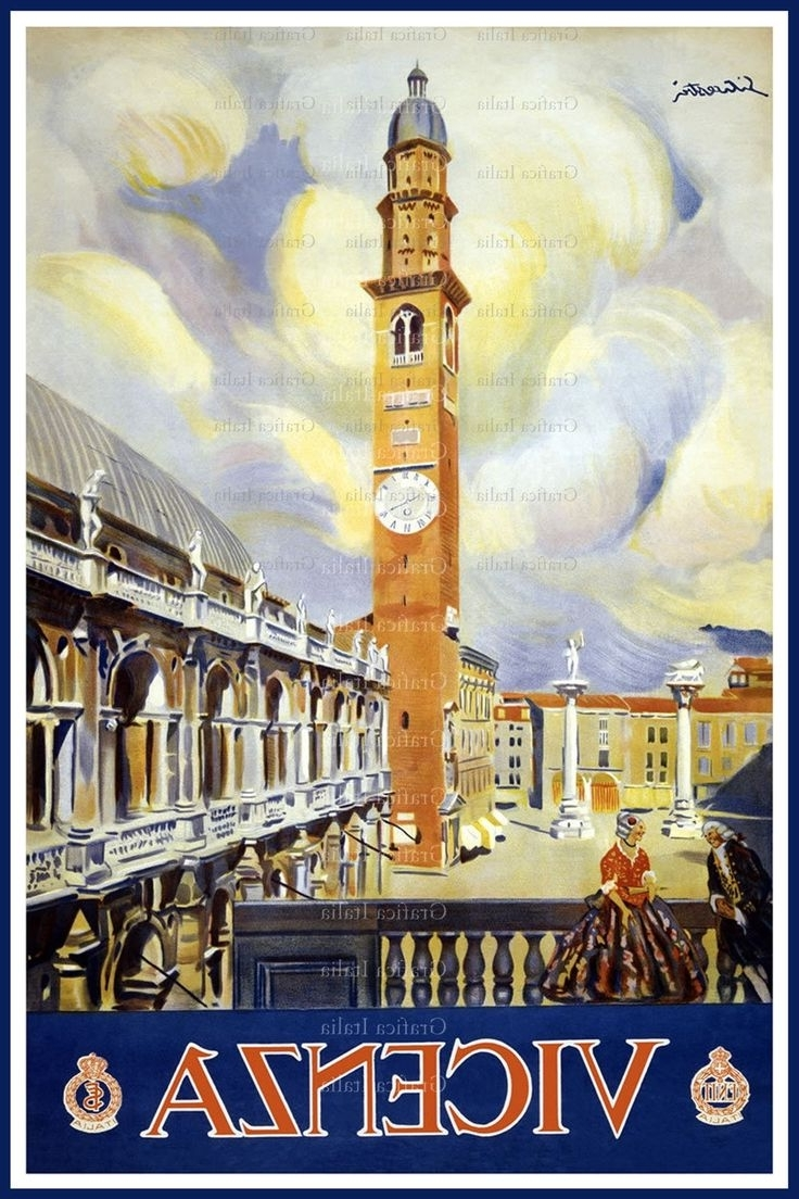 Preferred Italian Travel Wall Art Intended For 92 Best Vintage Poster Images On Pinterest (View 13 of 15)