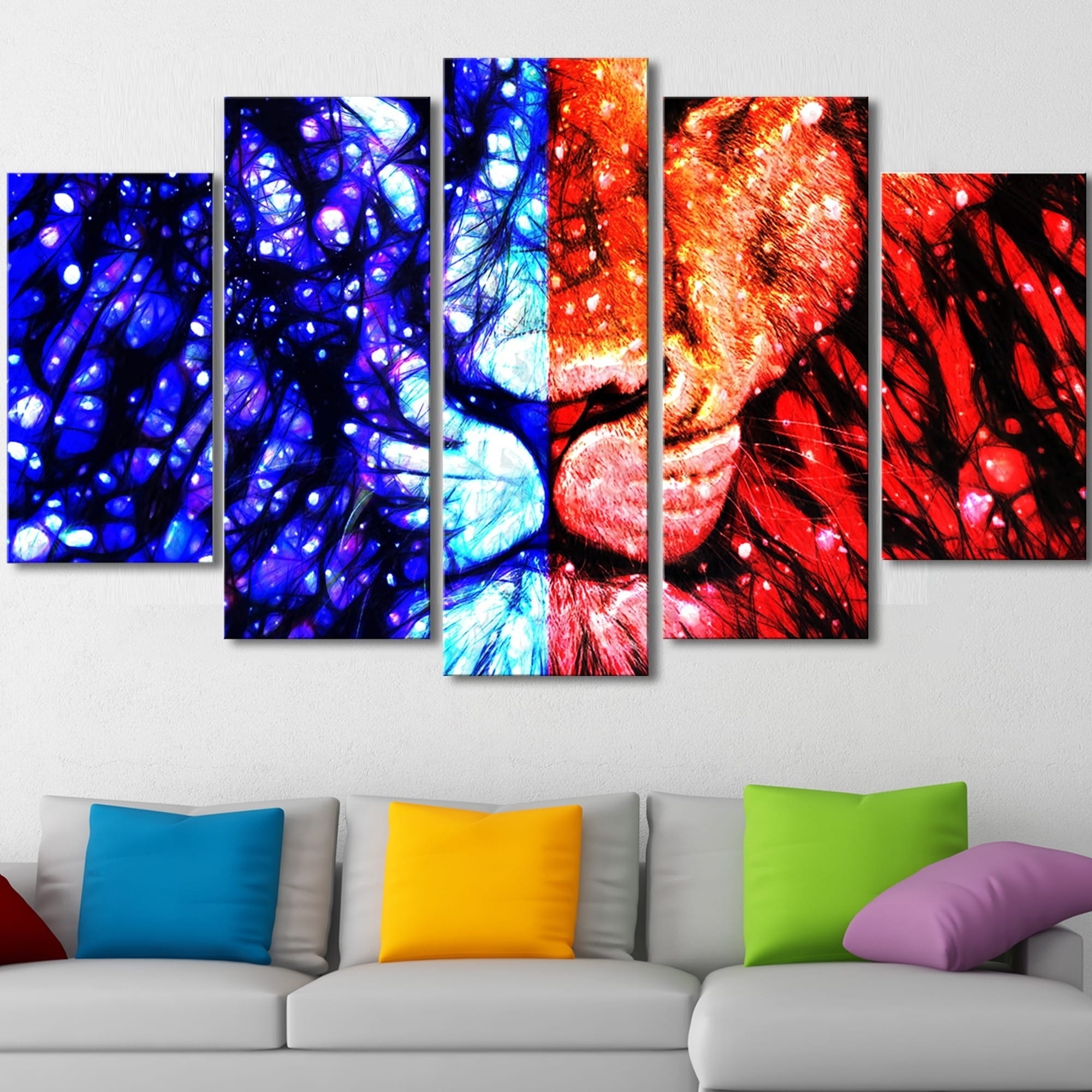 Preferred King Of The Jungle' Canvas Wall Art – Free Shipping Today With Jungle Canvas Wall Art (View 9 of 15)