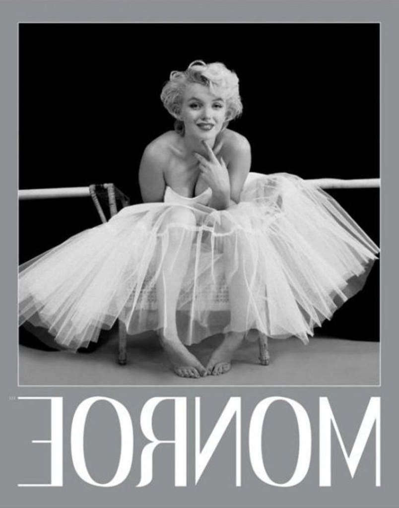 Preferred Marilyn Monroe – Ballerina Silver Ink Border – Official Mini Throughout Marilyn Monroe Framed Wall Art (View 12 of 15)