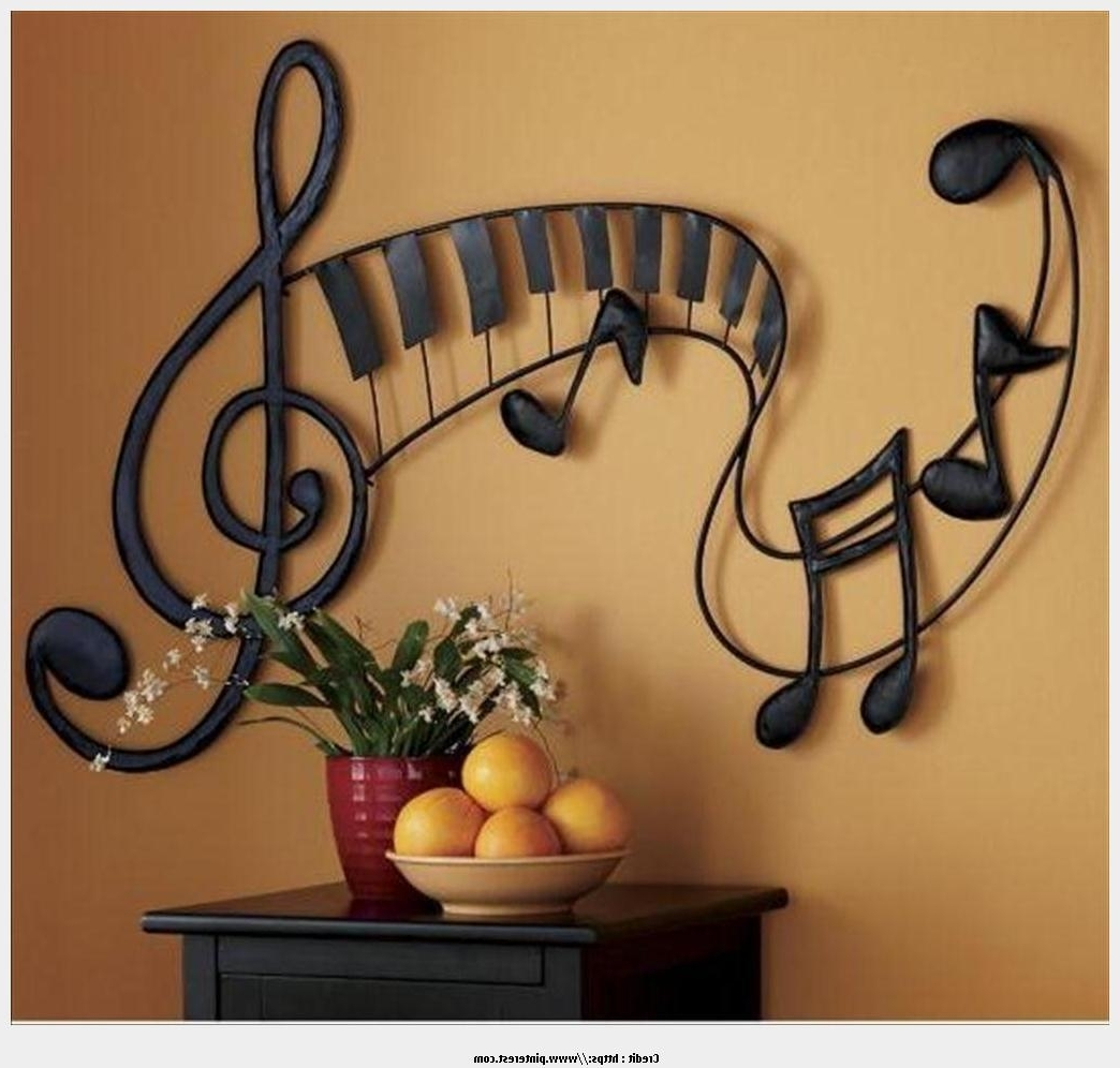Preferred Music Theme Wall Art With Good Metal Wall Art Music Theme Image (View 2 of 15)
