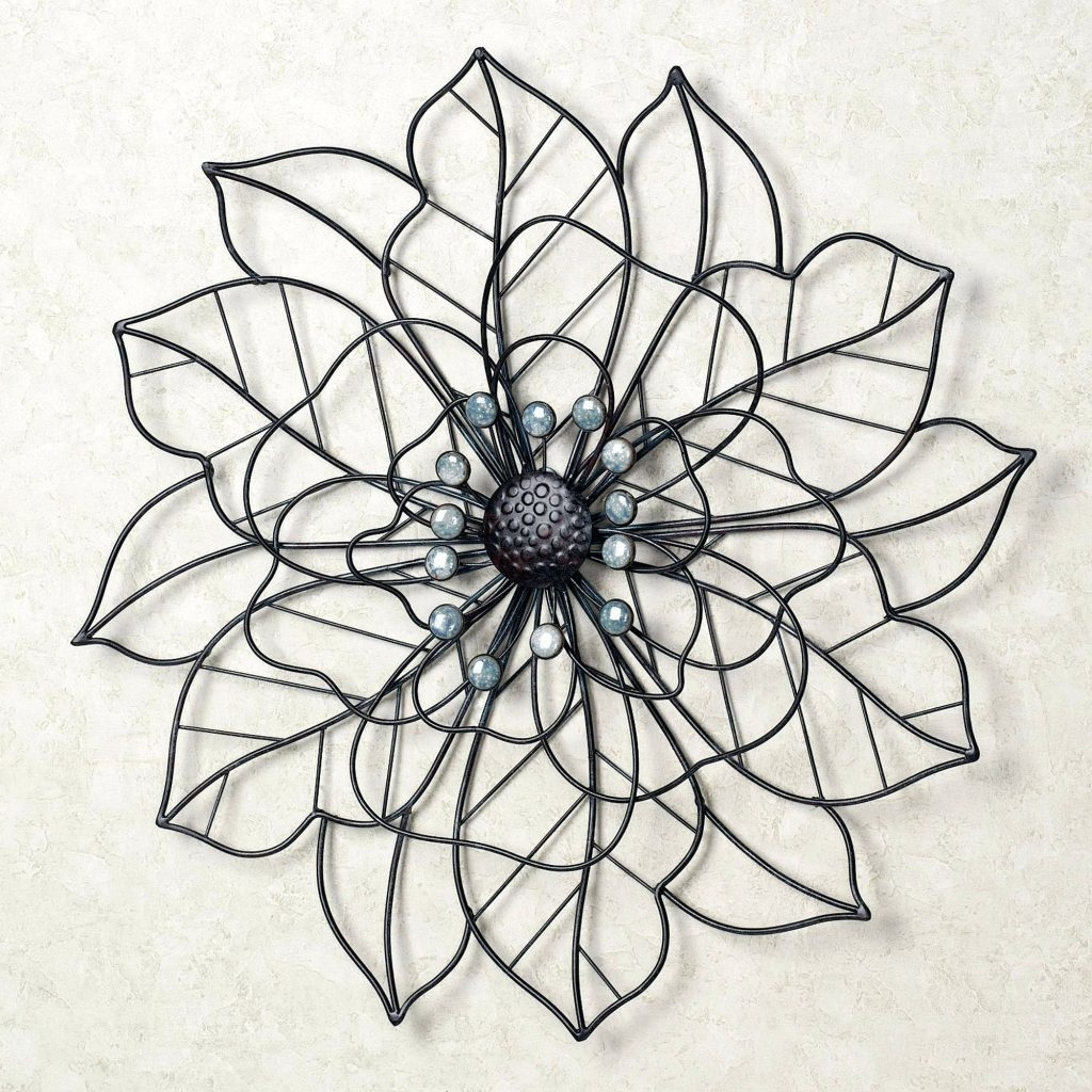 Preferred Purple Flower Metal Wall Art With Regard To Wall Arts ~ Click To Expand Metal Flower Wall Art Purple Flower (View 9 of 15)