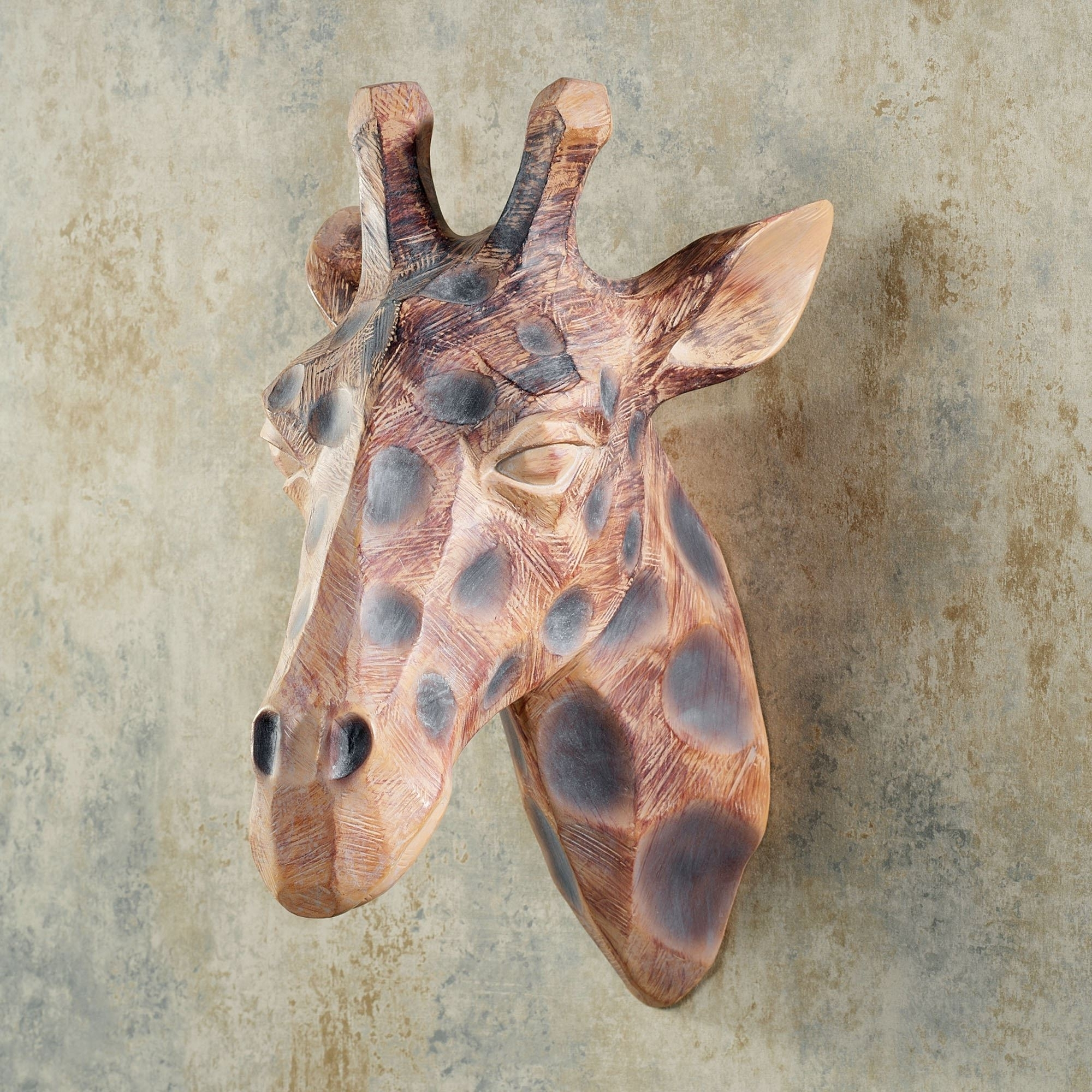 Preferred Resin Animal Heads Wall Art With Regard To View From Above Resin Giraffe Head Wall Art (View 10 of 15)