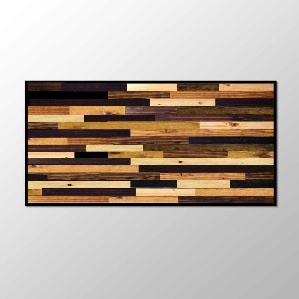 Featured Photo of Stained Wood Wall Art