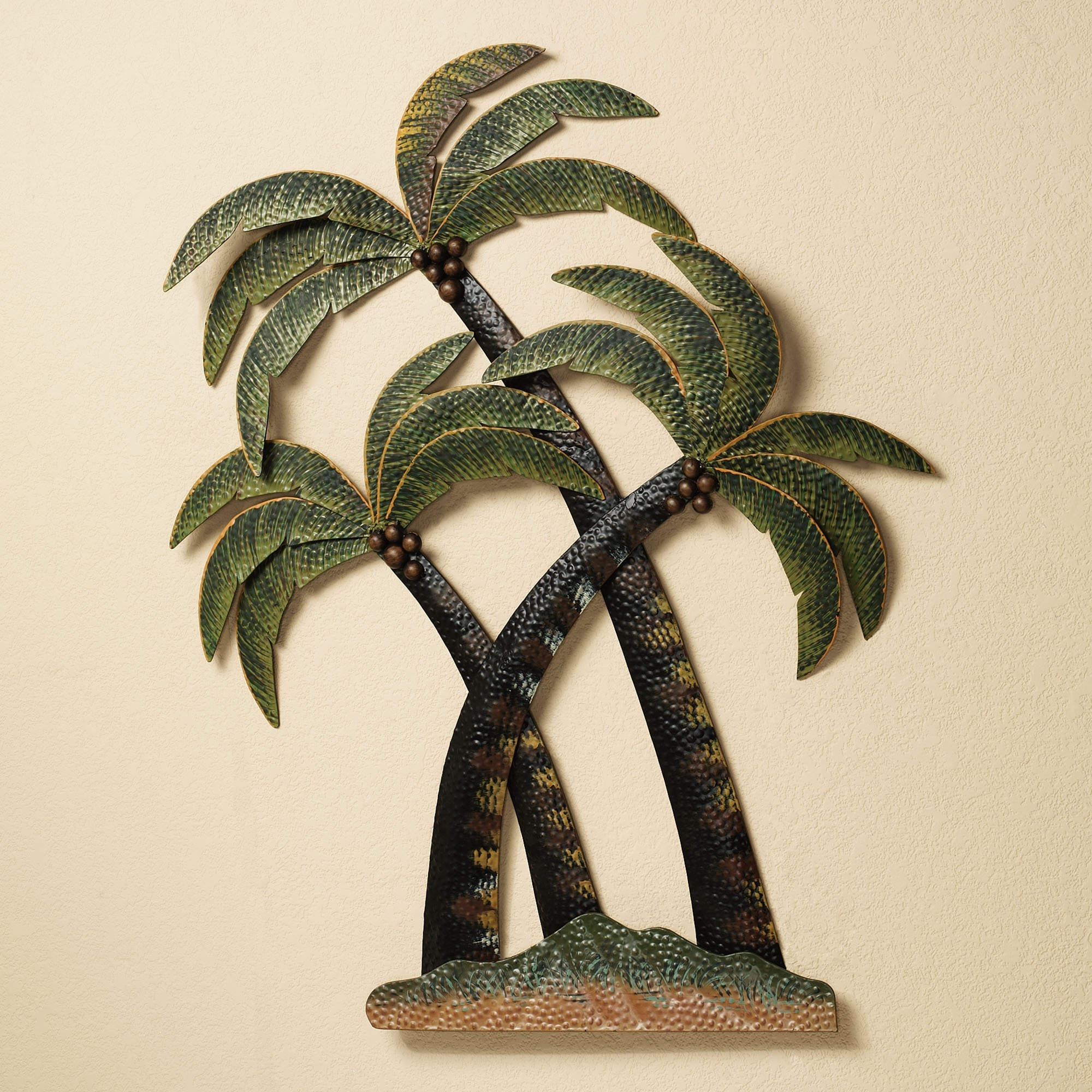 Preferred Stainless Steel Outdoor Wall Art Inside Wall Art Design Ideas: Sculpture Metal Palm Tree Wall Art Outdoor (View 5 of 15)