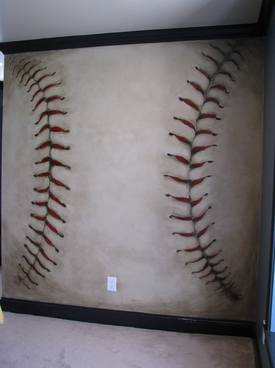 2019 Popular Vintage Baseball Wall Art