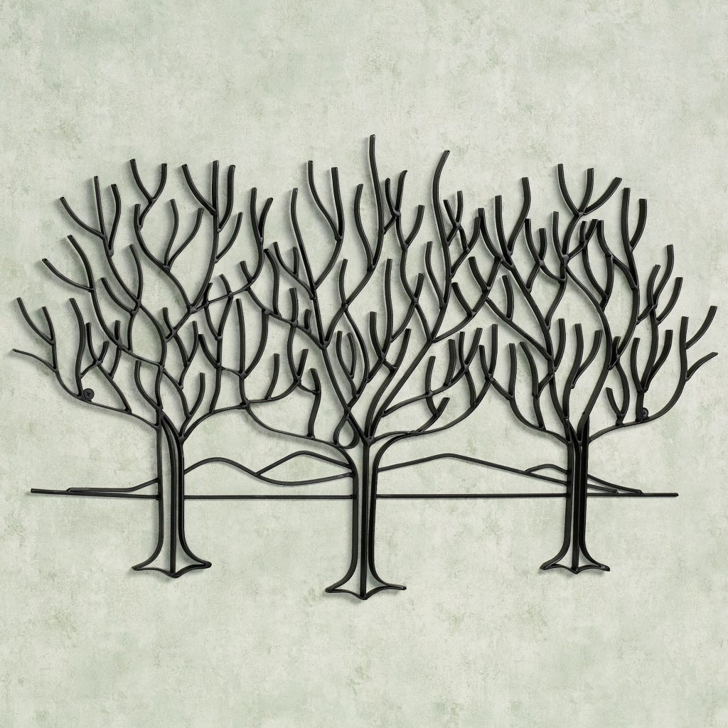 Preferred Wall Art Designs: Metal Wall Art Trees Home Decoration, Metal Tree Throughout Kohls Metal Tree Wall Art (View 10 of 15)