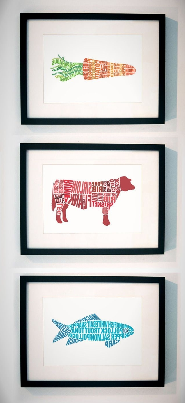 Preferred Wall Art For Kitchens For Best 25+ Kitchen Wall Art Ideas On Pinterest (View 8 of 15)
