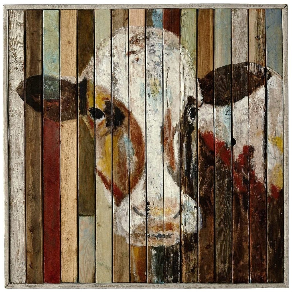 Preferred Wall Arts ~ Kaleidoscope Sky Wall Art Belle Of The Farm Cow Wall For Kaleidoscope Wall Art (View 10 of 15)