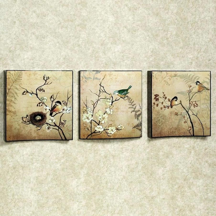 Preferred Wall Arts ~ Nojo Love Birds Wall Art Love Birds Wooden Wall Art In Ceramic Bird Wall Art (View 7 of 15)