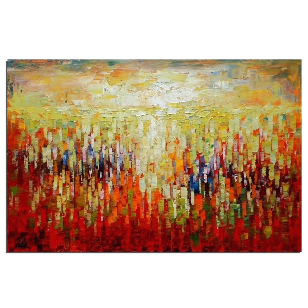 15 The Best Abstract Oversized Canvas Wall Art