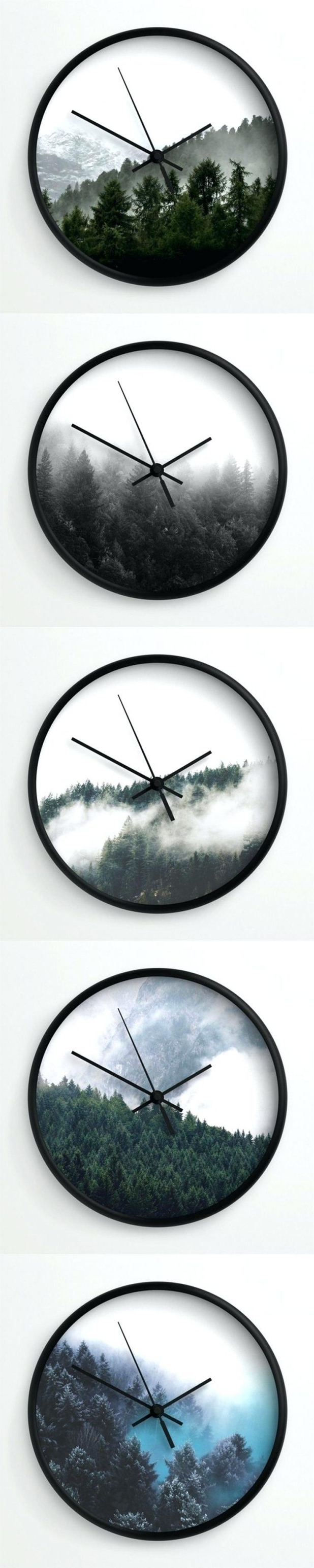 Preferred Wall Clocks : Modern Forest Wall Clocksneptune Essentials On With Italian Ceramic Wall Clock Decors (View 2 of 15)
