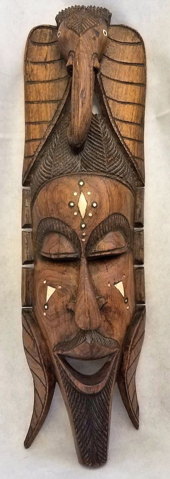 Preferred Wooden Tribal Mask Wall Art Inside Wooden Tribal Mask Wall Art (View 7 of 15)