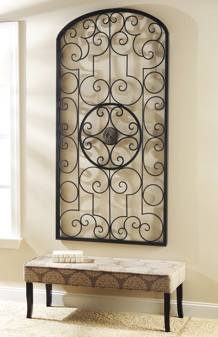 Preferred Wrought Iron Wall Decor For Large Area • Walls Decor Inside Iron Art For Walls (View 14 of 15)