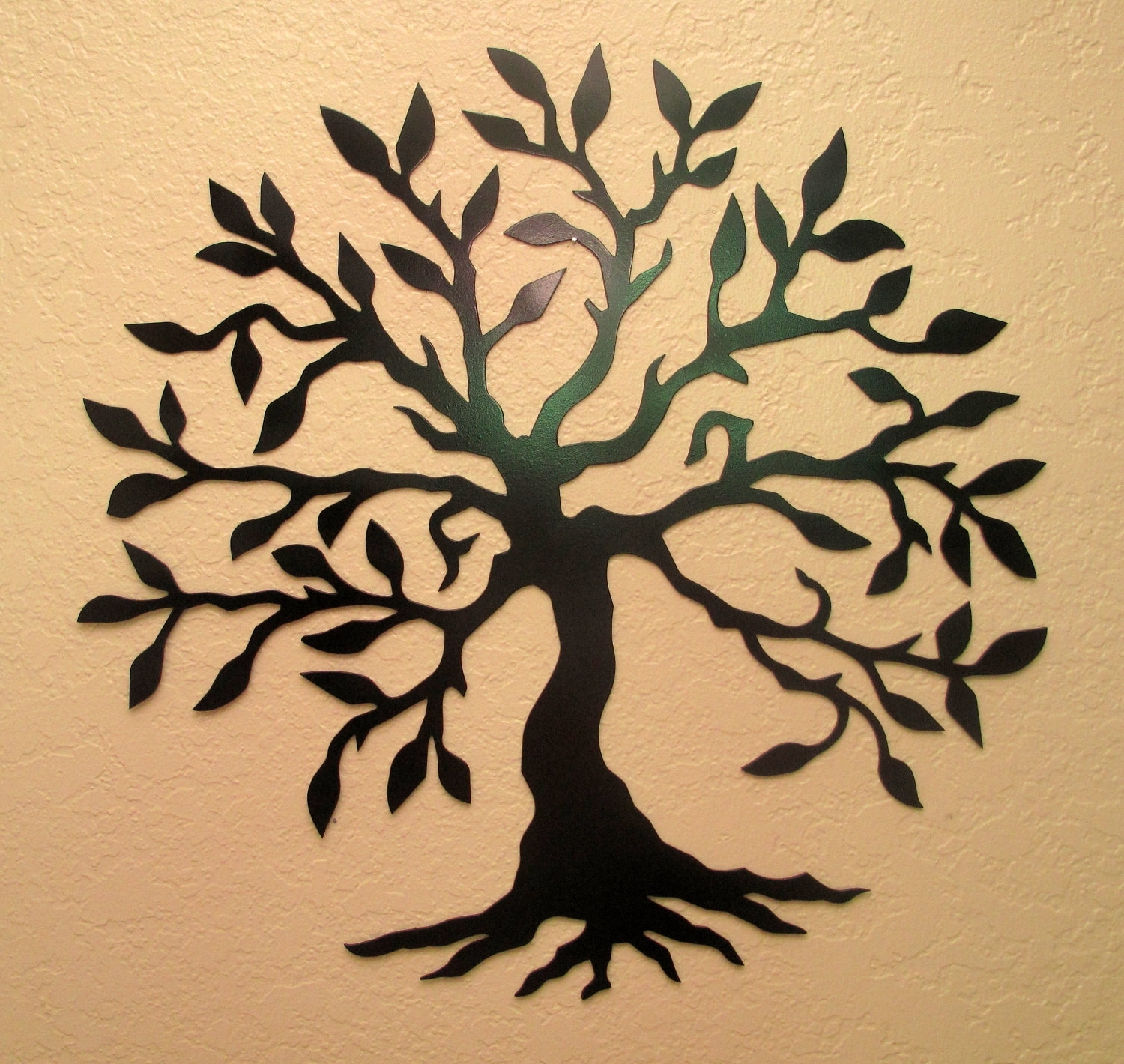 15 Collection of Oak Tree Metal Wall Art