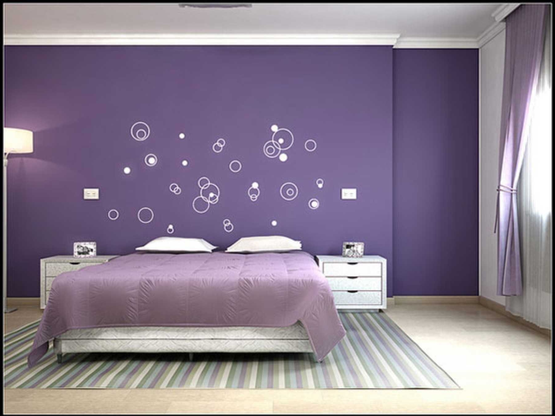 Featured Photo of Purple Wall Art For Bedroom