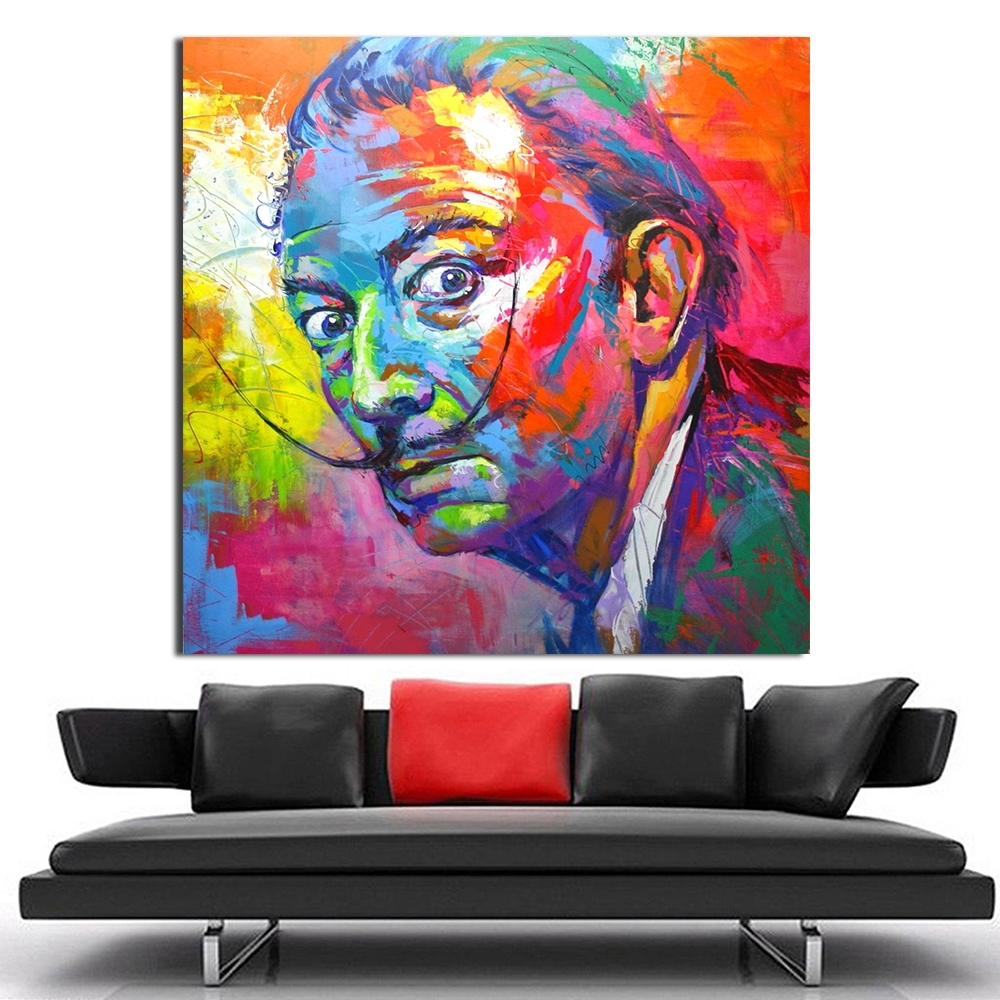 Qcart Salvador Dali Painting Wall Art Picture Home Decor Living In Most Up To Date Salvador Dali Wall Art (View 10 of 15)
