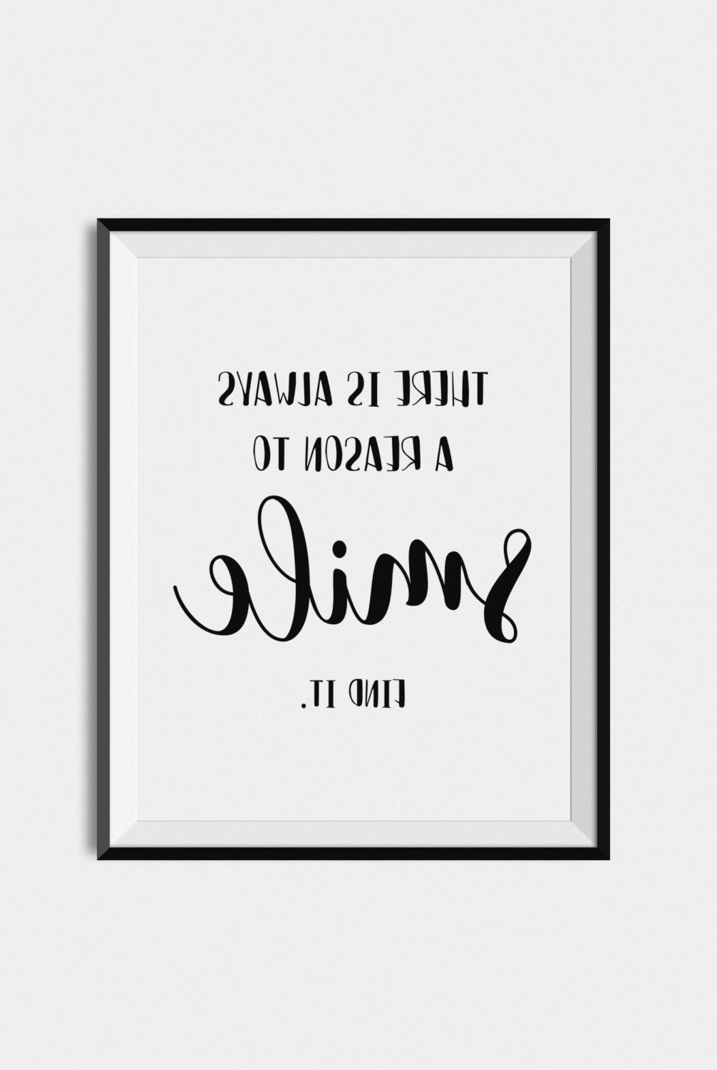 """Quote Wall Art Print, Inspirational Typography """"there Is Always A With Regard To Recent Coco Chanel Quotes Framed Wall Art (Gallery 7 of 15)"""