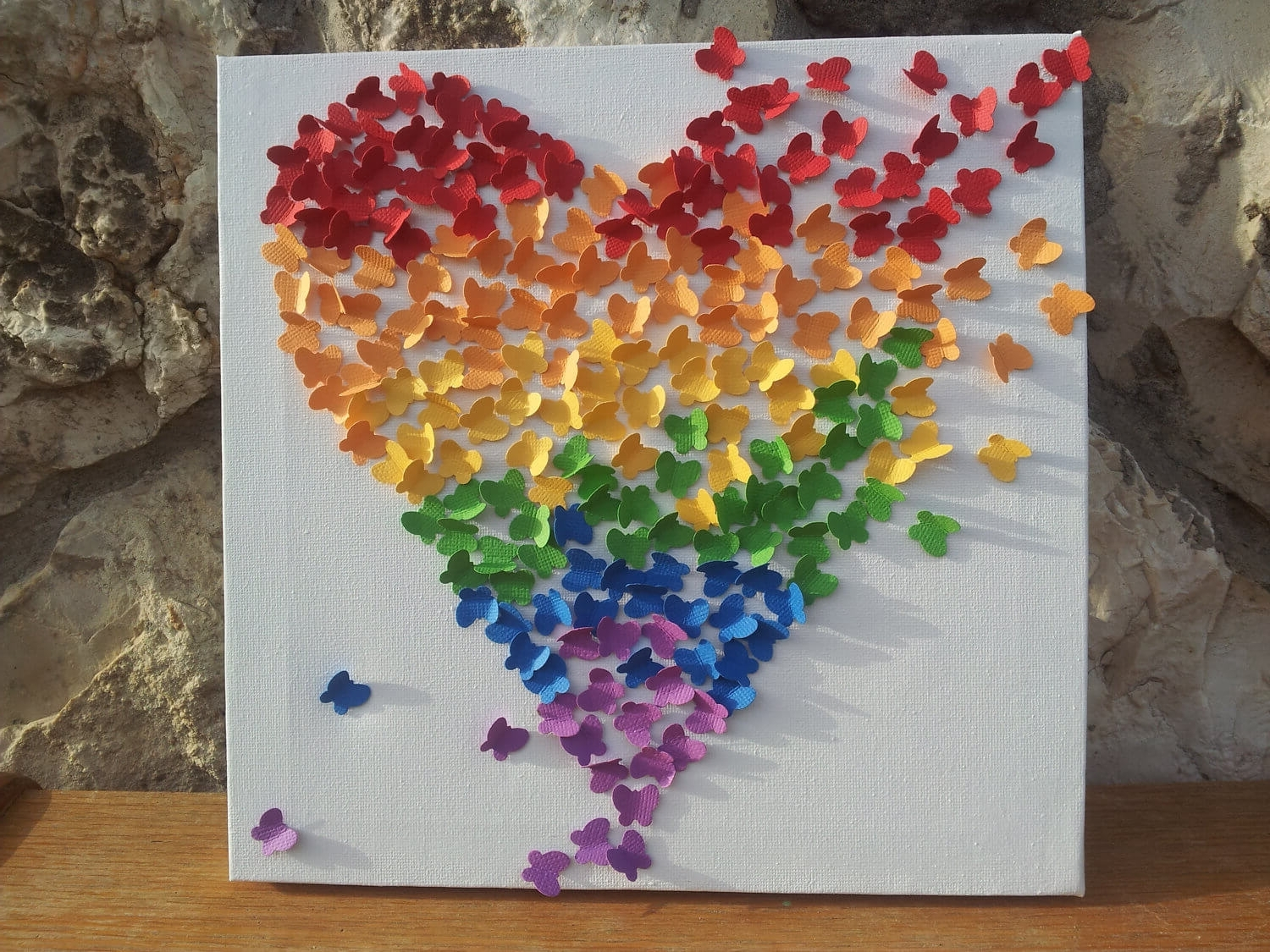 Featured Photo of Rainbow Butterfly Wall Art