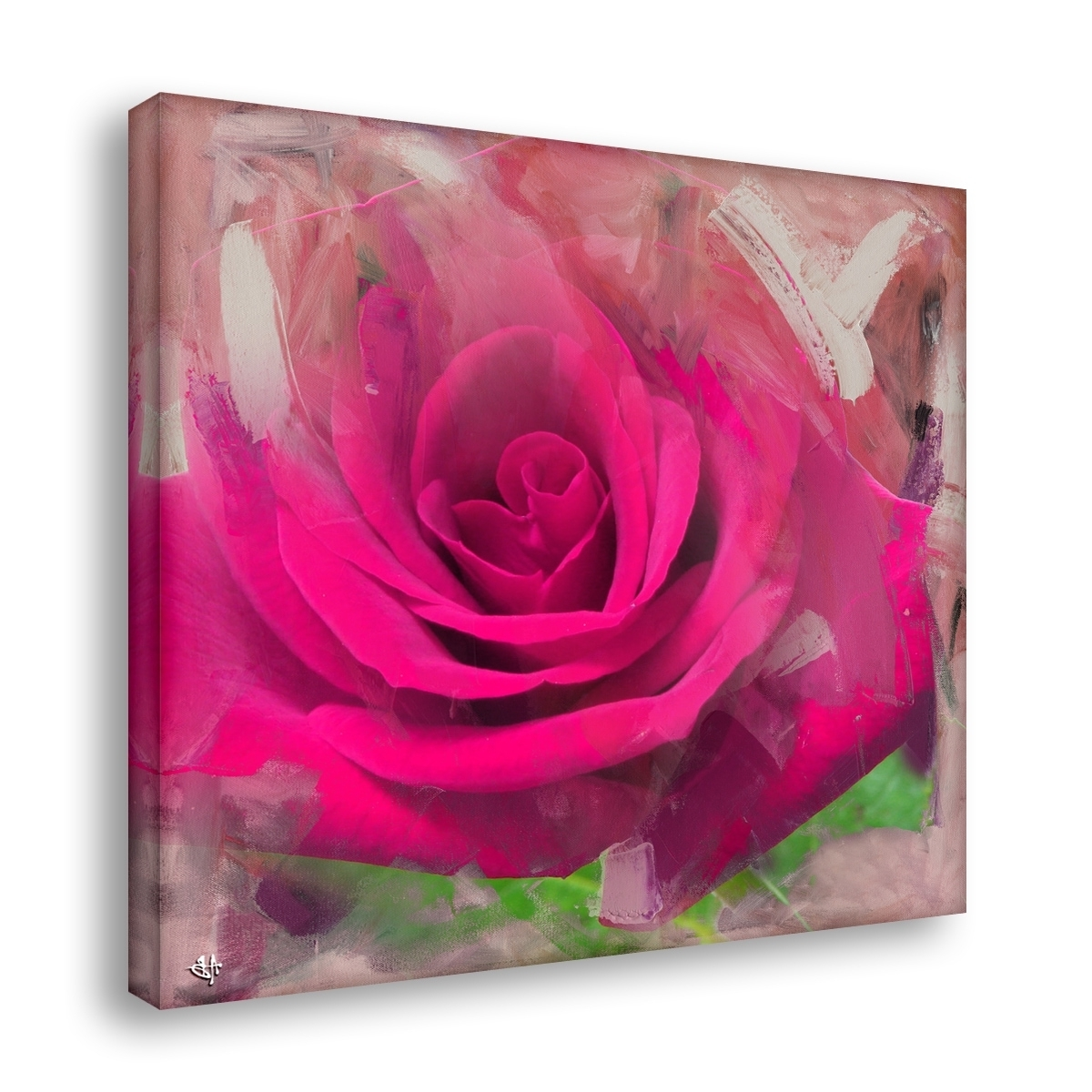 Ready2Hangart 'painted Petals Xl' Canvas Wall Art – Free Shipping Pertaining To Widely Used Rose Canvas Wall Art (View 10 of 15)