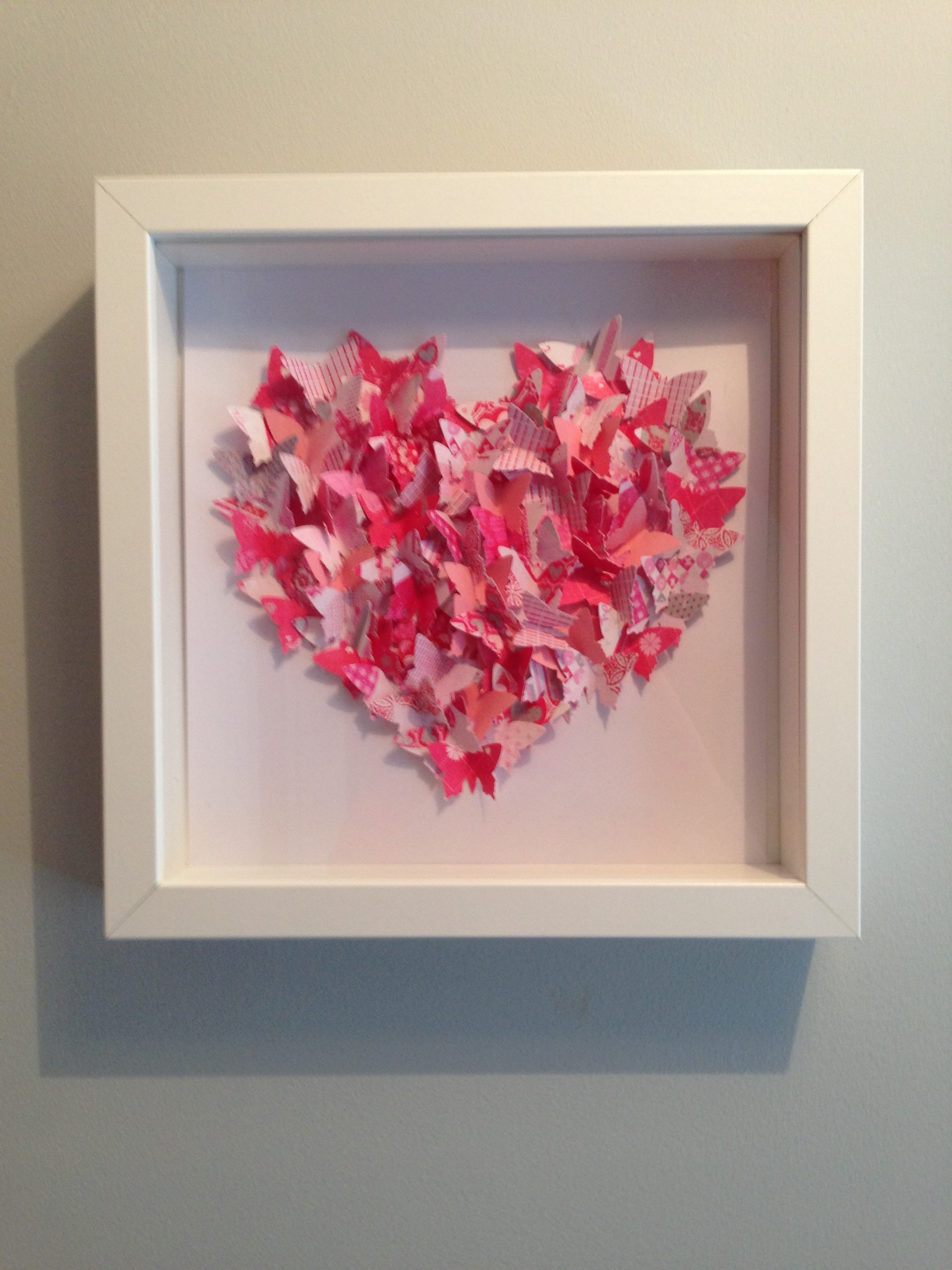 Recent 3D Butterfly Framed Wall Art Throughout 3D Framed Pink Butterfly Love Heart Box Framed Wall Art (View 14 of 15)