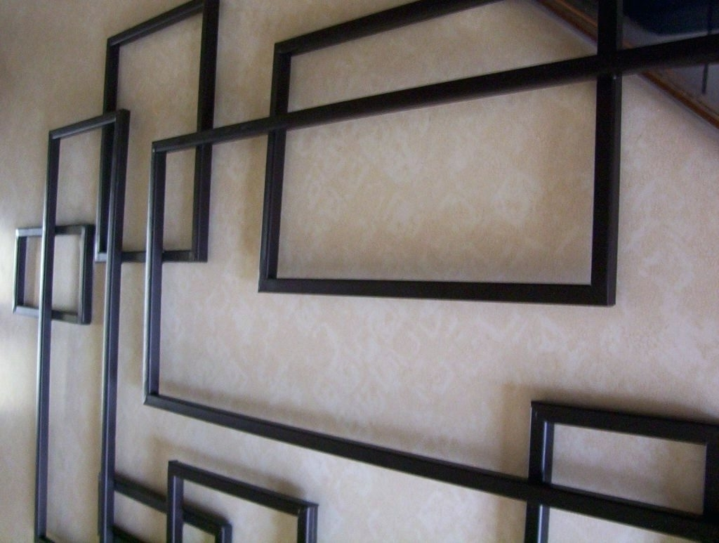 Recent Abstract Geometric Metal Wall Art Within Wall Arts ~ Geometric Metal Wall Art Large Size Outstanding Diy (View 5 of 15)