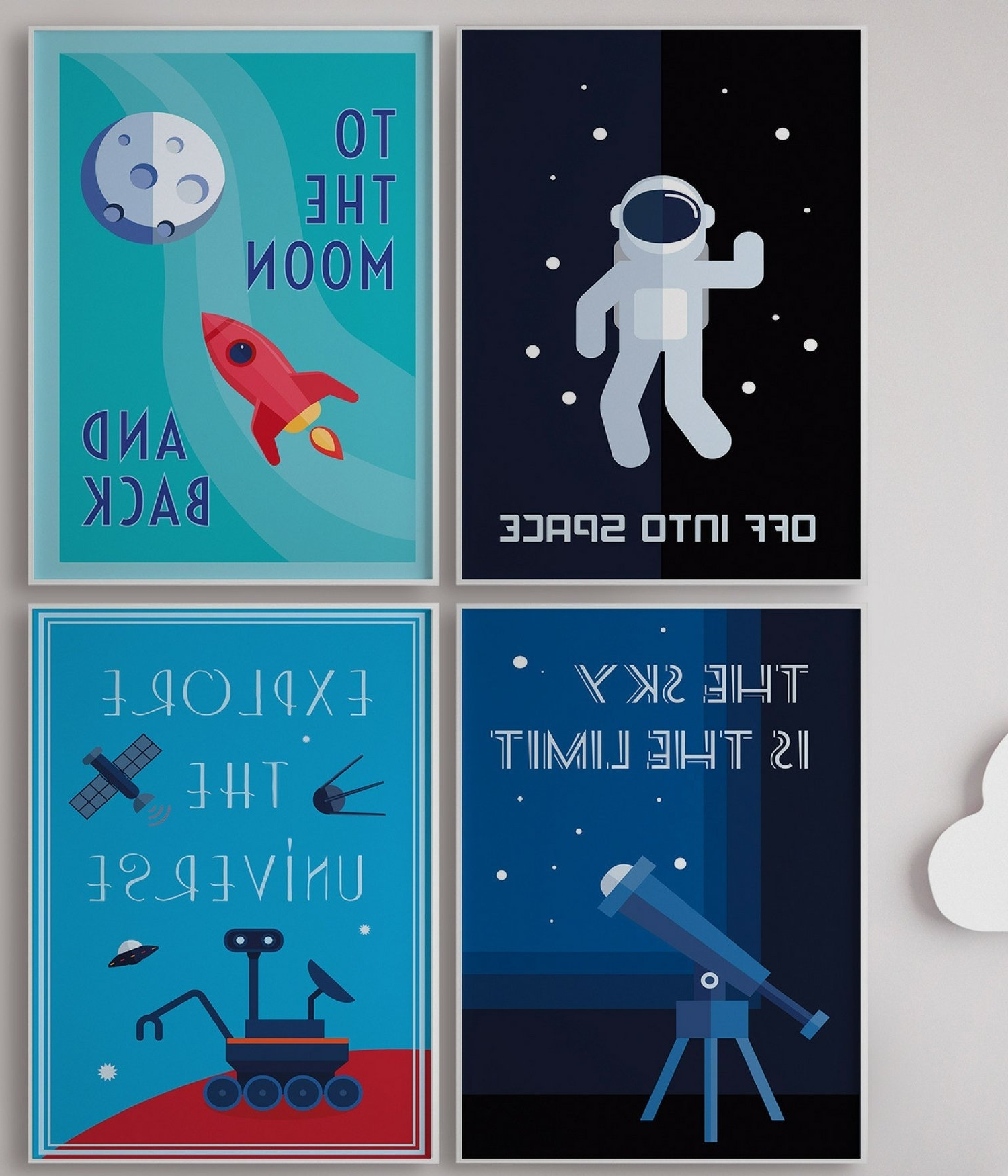 Recent Amazon: Solar System Wall Cards, Planet Wall Cards, Set Of Throughout 3d Solar System Wall Art Decor (View 7 of 15)