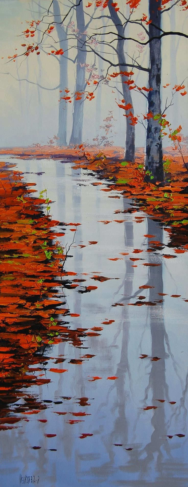 Recent Best 25+ Autumn Painting Ideas On Pinterest (View 9 of 15)