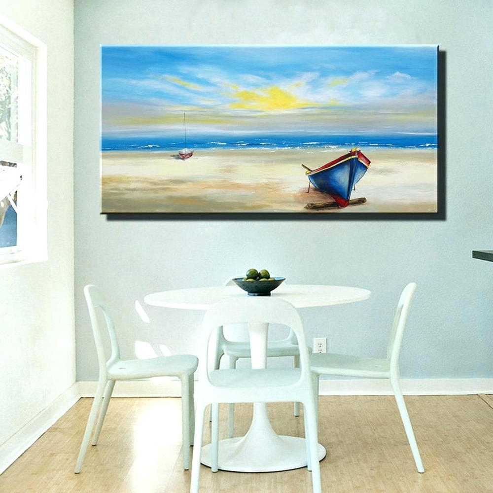 Recent Coastal Wall Art Canvas With Wall Arts ~ Beach Wall Art Decor Metal Wall Art Beach Decor Best (View 10 of 15)