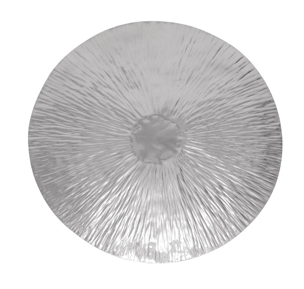 Recent Decorative Metal Disc Wall Art In Emanating Disk Modern Metal Art (Gallery 1 of 15)