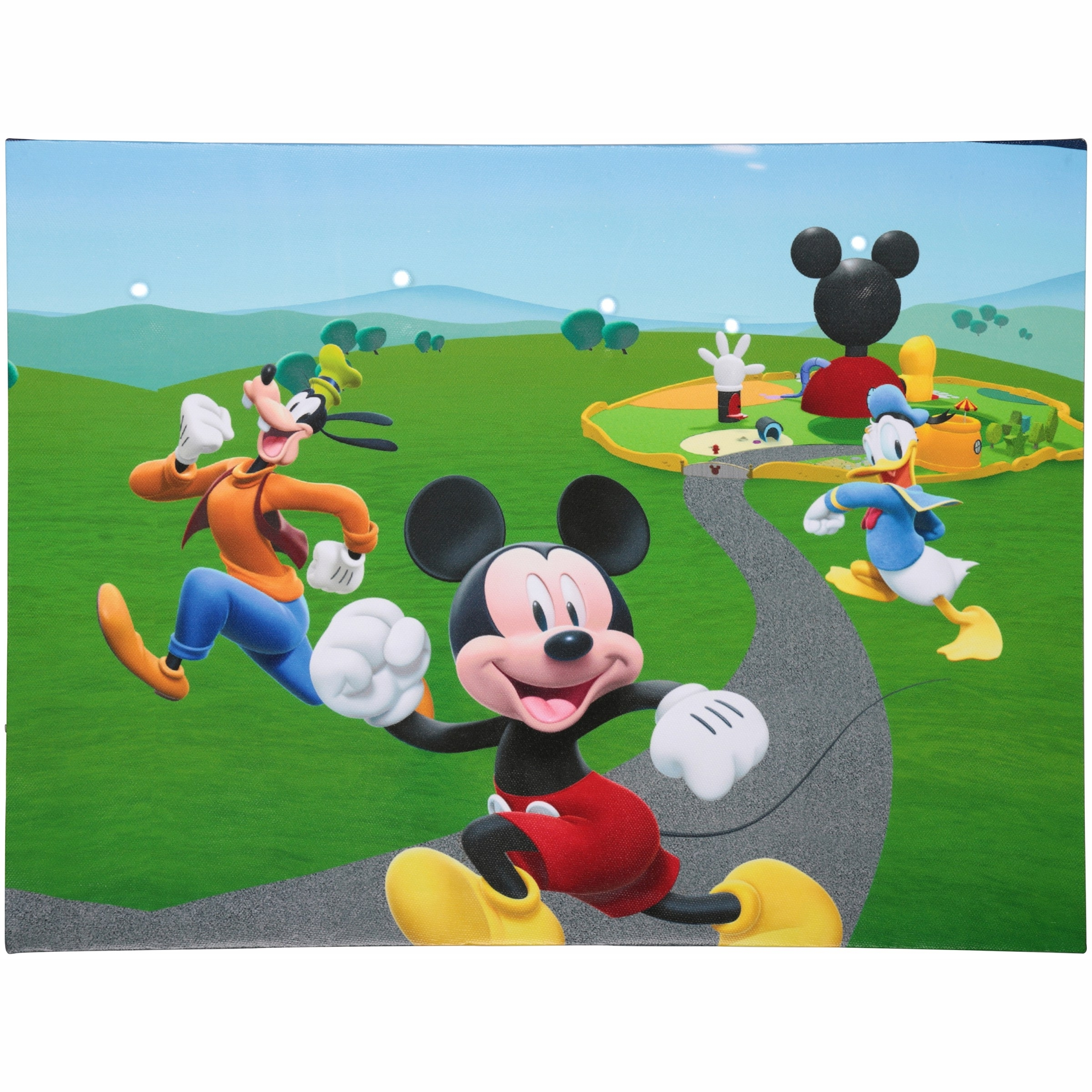 Recent Disney Junior Mickey Mouse Clubhouse Led Canvas Wall Art – Walmart Throughout Mickey Mouse Clubhouse Wall Art (View 14 of 15)