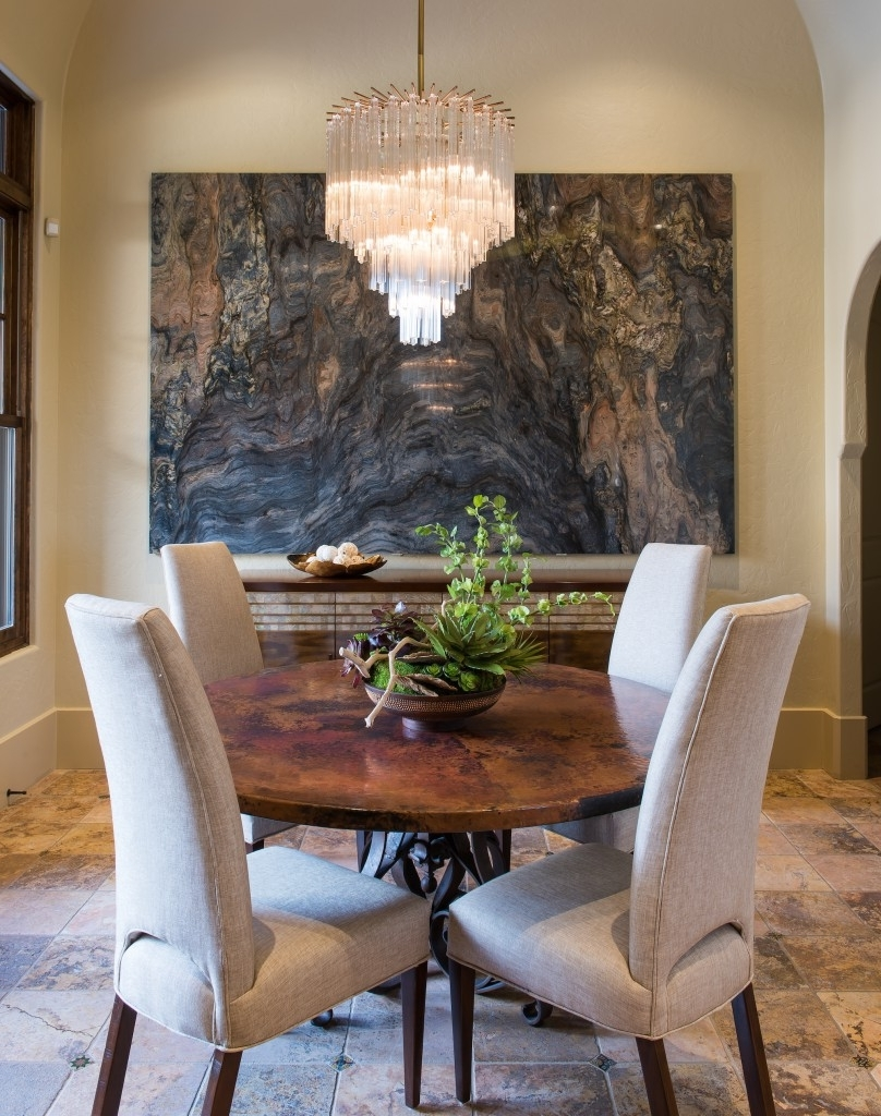 Recent Glamorous Mother Of Pearl Wall Art Throughout Stone Slab Used As Wall Art. Fusion Artbarbara Gilbert (Gallery 14 of 15)