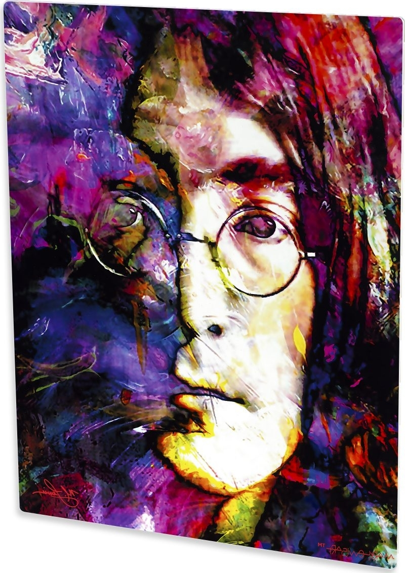 Recent John Lewis Abstract Wall Art Throughout John Lennon Art Print Painting Exceptional Wall Decor (Gallery 11 of 15)