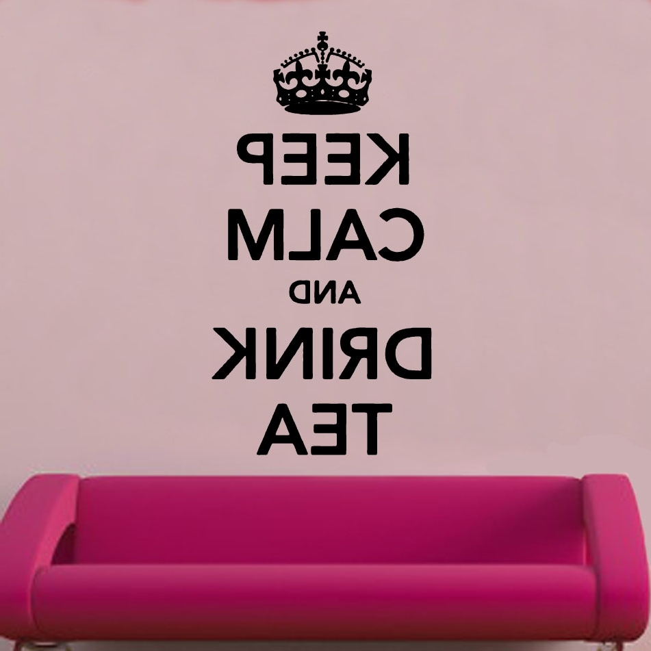 Recent Keep Calm And Carry On Wall Art Within Keep Calm And Carry On Vinyl Wall Art » _Shop » Home (Gallery 13 of 15)