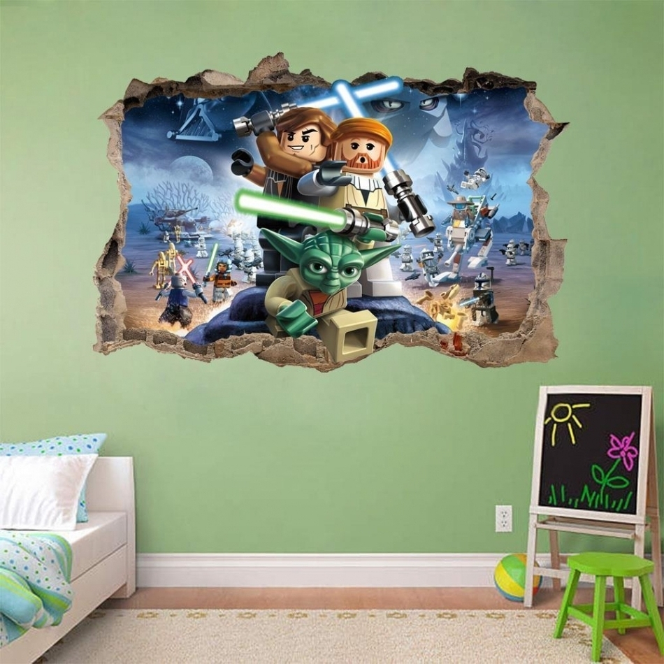 Recent Lego Star Wars Wall Art With Awesome Lego Star Wars Wall Art M37 For Your Small Home Decoration (View 10 of 15)