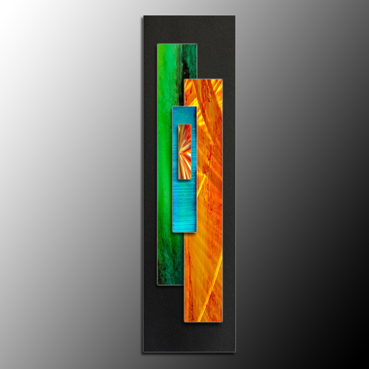 Recent Lummy Metal Wall Sculpture Art Vertical Wild Side Abstract Metal With Regard To Long Vertical Wall Art (View 7 of 15)
