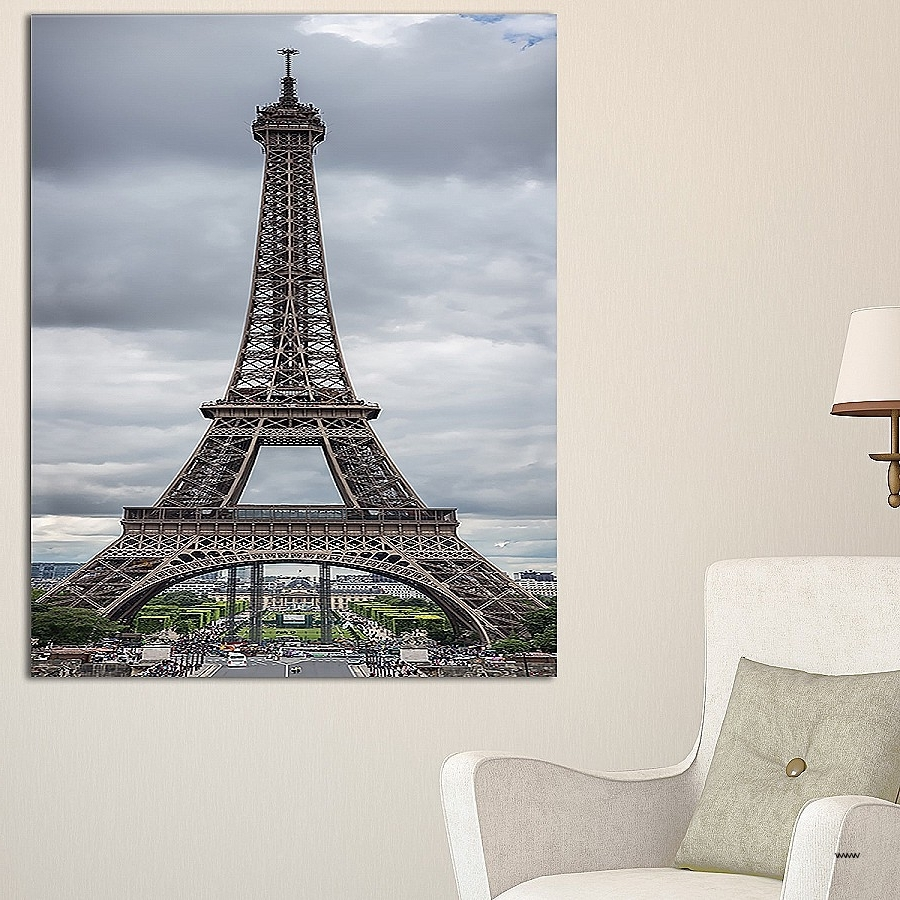 Recent Metal Eiffel Tower Wall Art Inside Metal Eiffel Tower Wall Art Beautiful Grayscale Eiffel Tower (View 14 of 15)