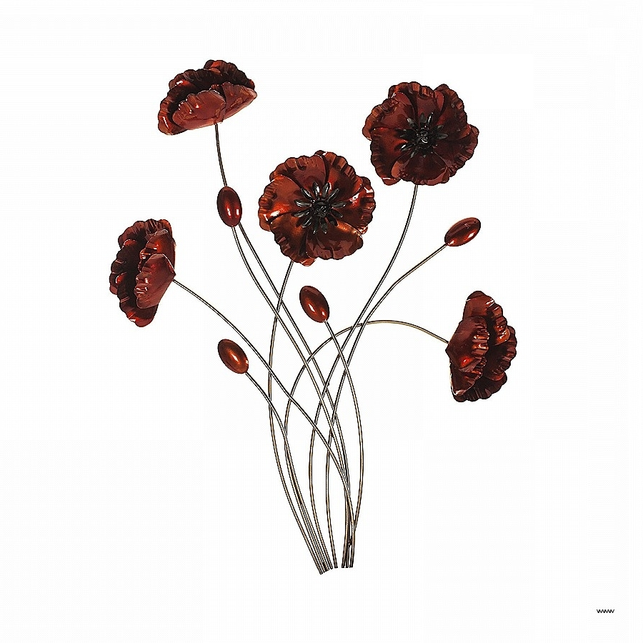 Recent Metal Poppy Wall Art Inside The Range Metal Wall Art Fresh Bouquet Poppies Wall Art Hd (View 8 of 15)