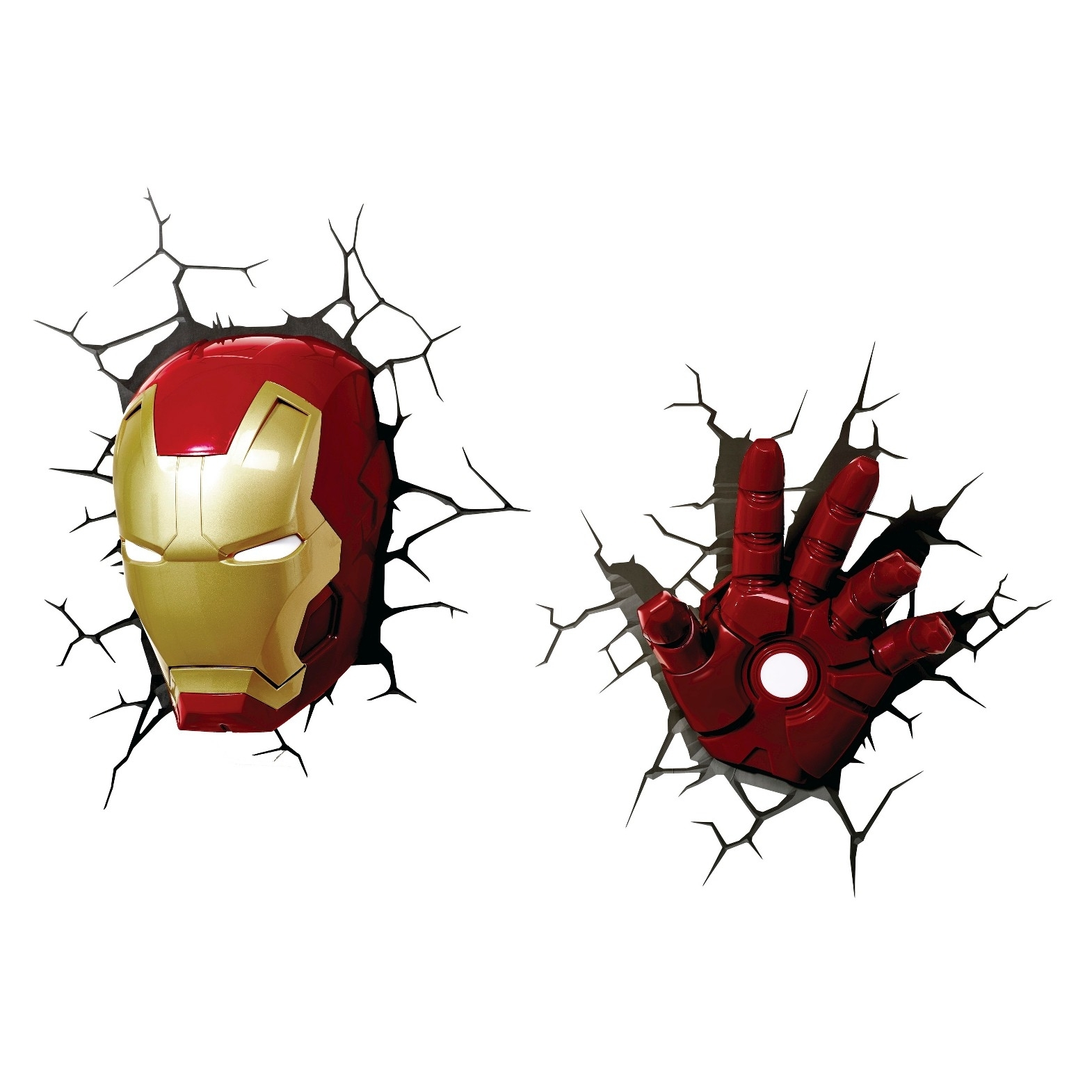 Recent P><P>Chase The Bad Guys Away With The Avengers 3D Wall Art Iron In 3D Wall Art Nightlight (View 10 of 15)